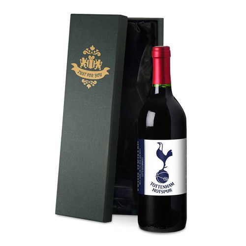 Personalised Spurs Label Red Wine From Something Personal