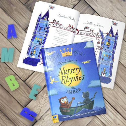 Personalised Traditional Nursery Rhymes Book From Something Personal