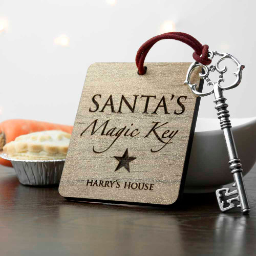 Personalised Santa's Magic Key From Something Personal
