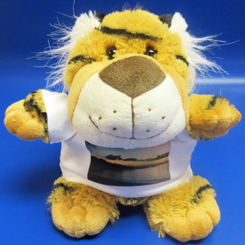 Personalised Tikka Tiger Soft Toy From Something Personal