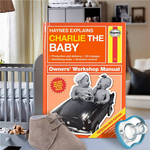 Personalised Haynes Explains Babies Book From Something Personal