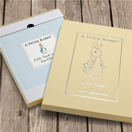 Personalised The Peter Rabbit Little Guide To Life From Something Personal