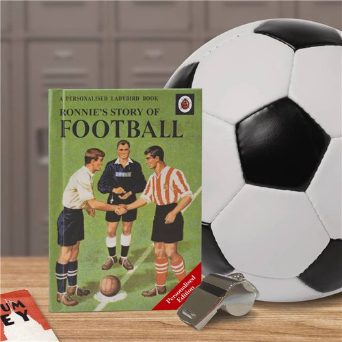Personalised Football Ladybird Book From Something Personal