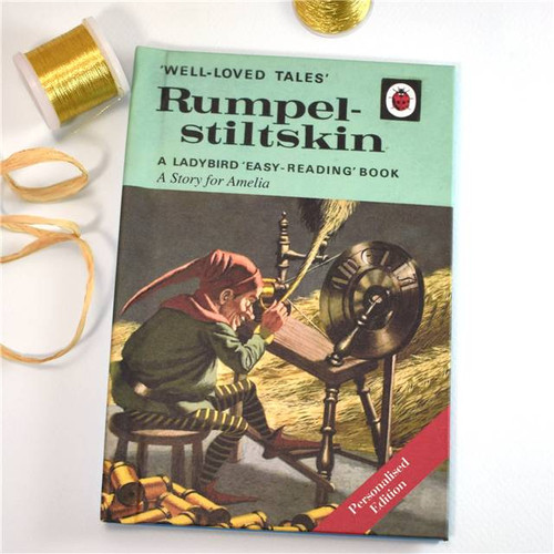Personalised Rumpelstiltskin Ladybird Book From Something Personal