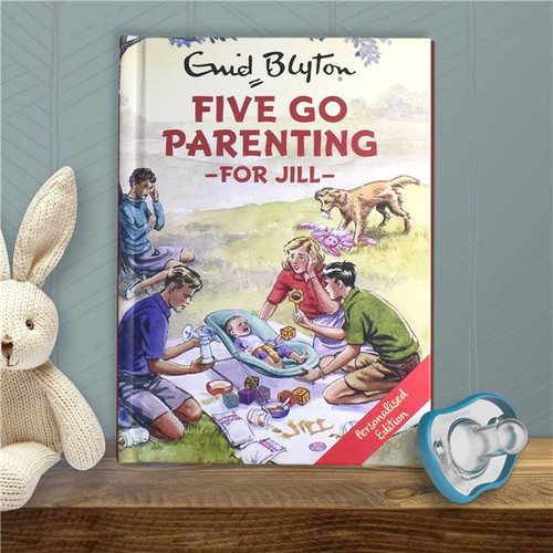 Personalised Five Go Parenting Book From Something Personal