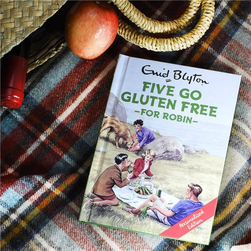 Personalised Five Go Gluten Free Book From Something Personal