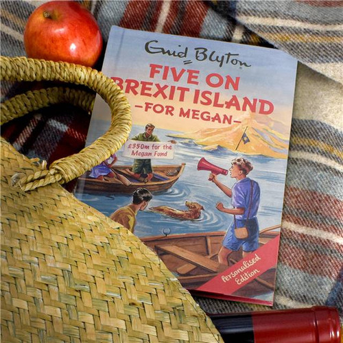 Personalised Five On Brexit Island Book From Something Personal