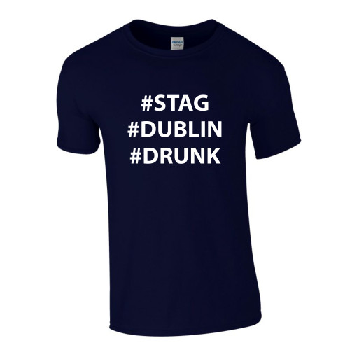 Personalised Stag Hashtag T Shirt From Something Personal