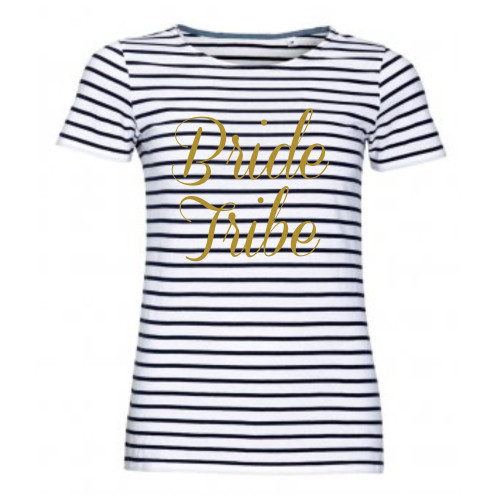 Personalised Stripe Hen T Shirt From Something Personal