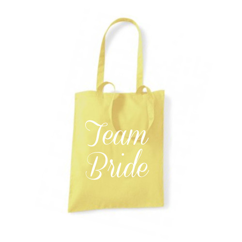 Personalised Team Bride Tote Bag From Something Personal