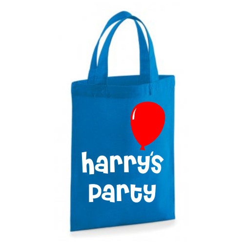 Personalised Balloon Party Bag From Something Personal