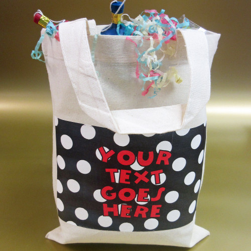 Personalised Polka Dot Party Bag From Something Personal