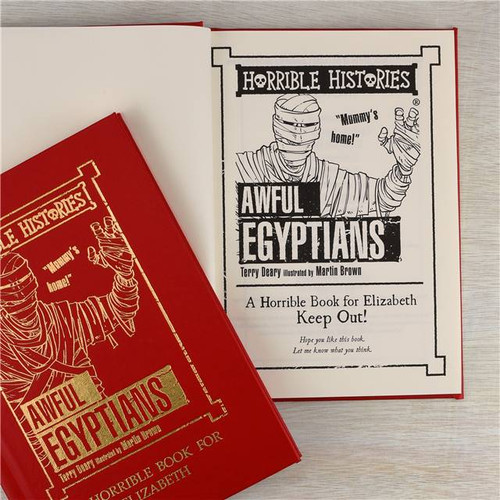 Personalised Horrible Histories Awful Egyptians Book From Something Personal