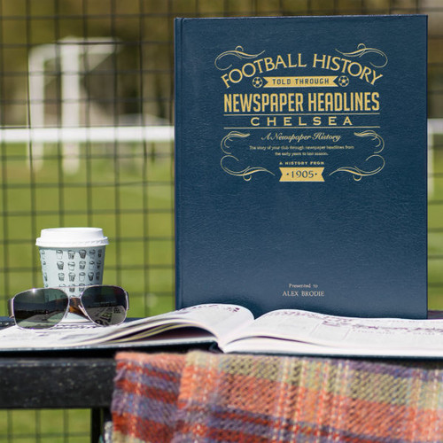 Personalised Chelsea Football Book From Something Personal