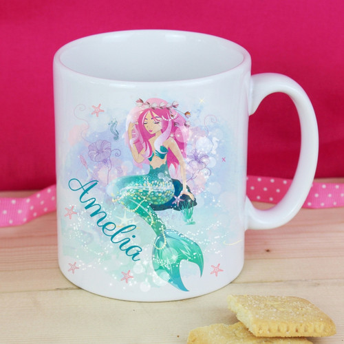 Personalised Mermaid Mug From Something Personal