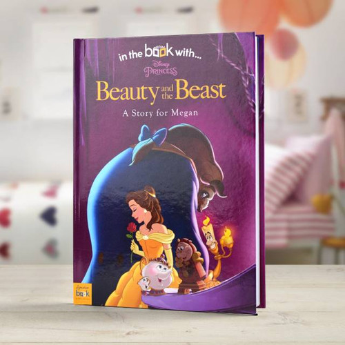 Personalised Disney Beauty & The Beast Book From Something Personal