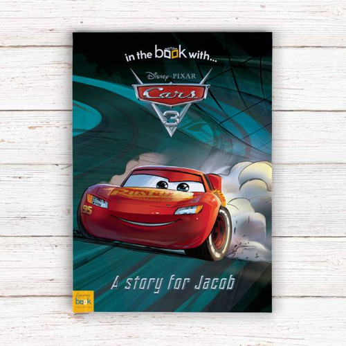 Personalised Disney Cars 3 Book From Something Personal