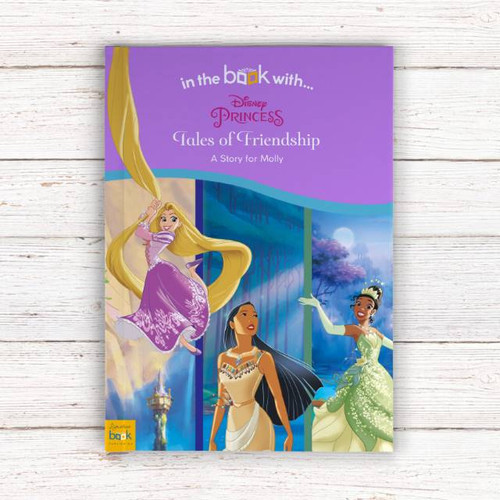 Personalised Disney Princesses' Tales of Friendship Story Book From Something Personal