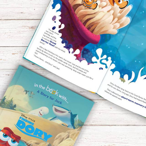 Personalised Disney Finding Dory Book From Something Personal