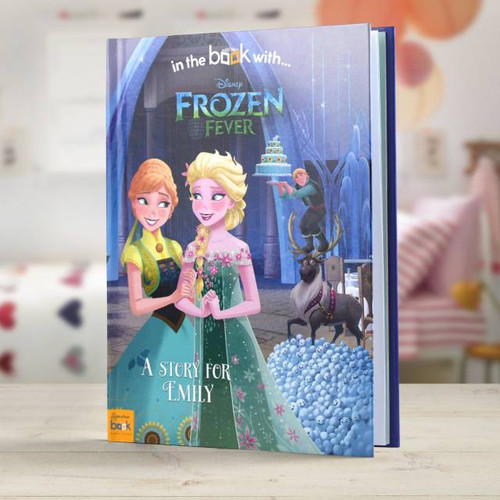 Personalised Disney Frozen Fever Story Book From Something Personal