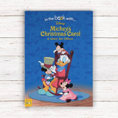 Personalised Disney Mickey Mouse's Christmas Story Book From Something Personal