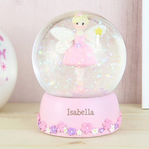 Personalised Fairy Any Name Snow Globe From Something Personal