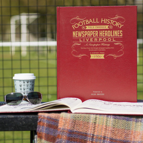Personalised Liverpool FC Football Book From Something Personal