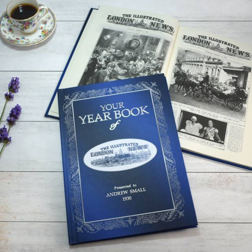 Personalised Illustrated London News Year Book From Something Personal
