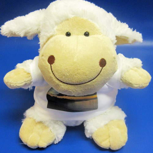 Personalised Sorrel Sheep Soft Toy From Something Personal