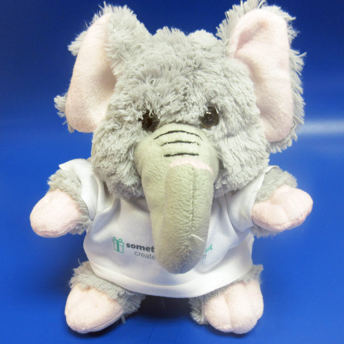 Personalised Ellie Elephant Soft Toy From Something Personal