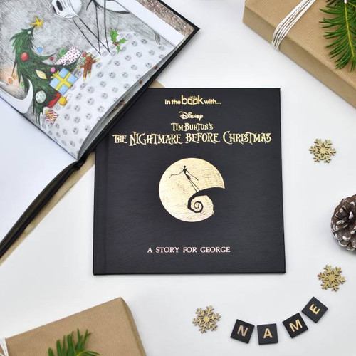 Personalised The Nightmare Before Christmas Story Book From Something Personal