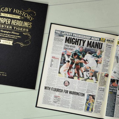 Personalised Rugby Book From Something Personal