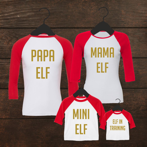 Elf Family T Shirt