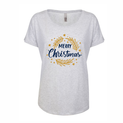 Merry Christmas Wreath T Shirt