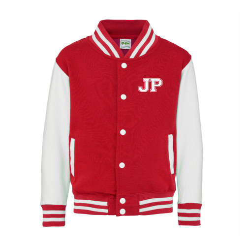 Kids Printed Baseball Jacket