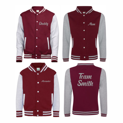Family Varsity Jacket Bundle