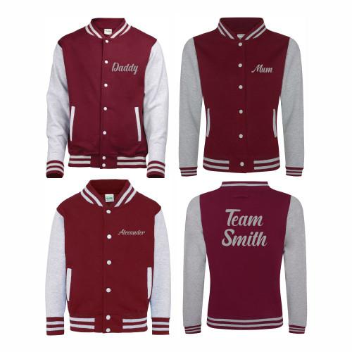 Family Varsity Jacket Bundle