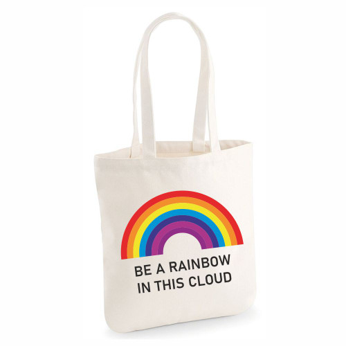 Be A Rainbow In This Cloud Tote Bag From Something Personal