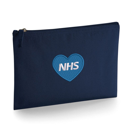 NHS Heart Large Accessory Pouch From Something Personal