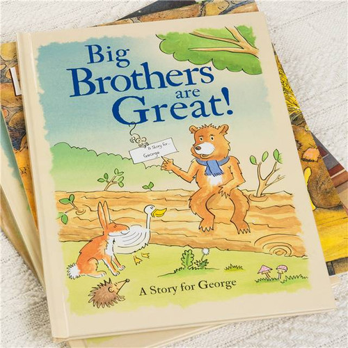Big Brothers Are Great Personalised Story book from Something Personal