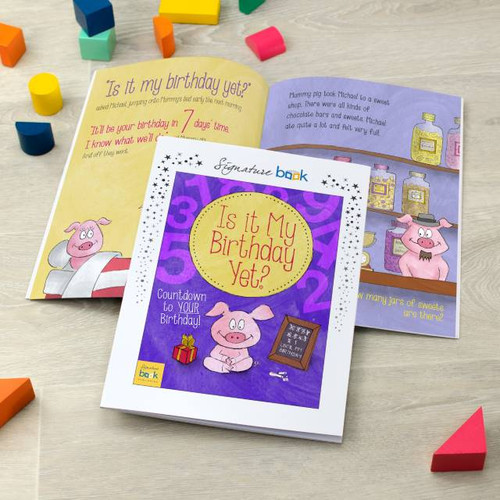 Is It My Birthday Yet?  Personalised Children's Story Book from Something Personal