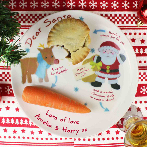 Personalised Felt Stitch Friends Mince Pie Plate From Something Personal