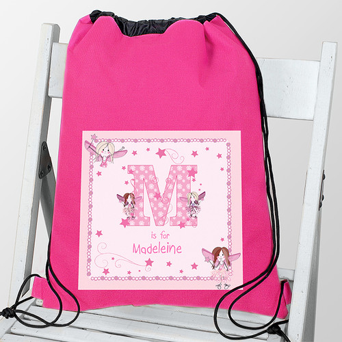Personalised Fairy Letter Swim Bag From Something Personal