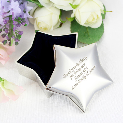 Personalised Star Trinket Box From Something Personal
