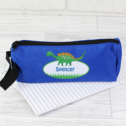 Personalised Dinosaur Pencil case From Something Personal