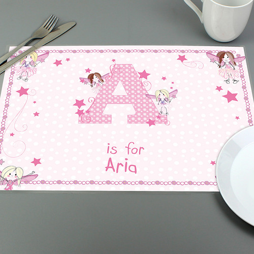 Personalised Fairy Placemat From Something Personal