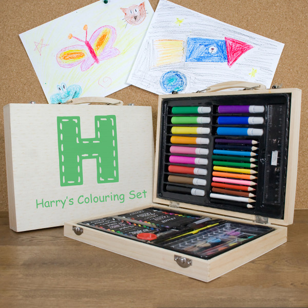 Personalised Children's Colouring In Set From Something Personal