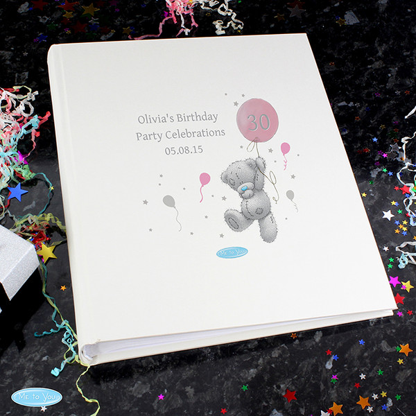 Personalised Me To You Pink Balloon Album With Sleeves From Something Personal