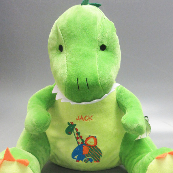 Personalised Rex Dinosaur Teddy From Something Personal