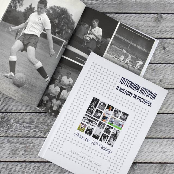 A Football History In Pictures Colour Cover Book